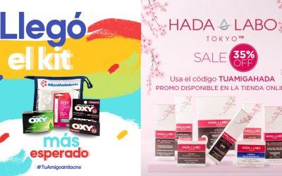 OXY Y HADA LABO TOKYO TE DAN UNA MANO AMIGA