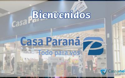 BIENVENIDOS CASA PARANÁ